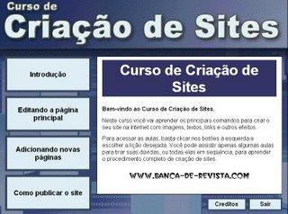 Download Curso de Criação de Sites Baixar