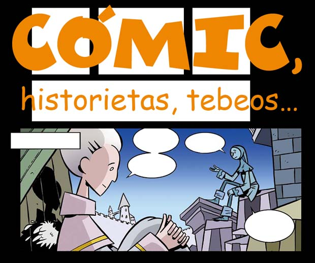 CMIC, historietas, tebeos