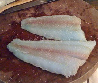 Blue Lingcod Cooked