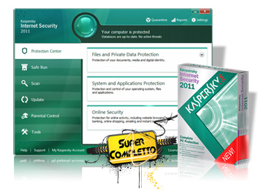 Download Kaspersky Internet Security 2011 + Seriais válidos 365 Dias Completo