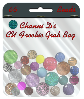 66 Different Sized beads from Channi D's CU Freebies by Channi Beadspreview
