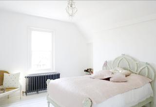 Bedroom at Myddelton House