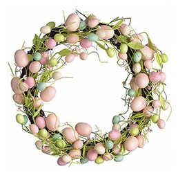 Glitter Egg Wreath