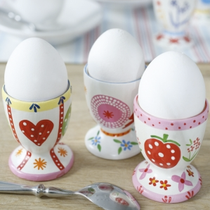 Jolly egg cups by Berryred