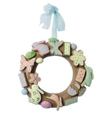 Easter Bunny Wreath by Dotcomgiftshop