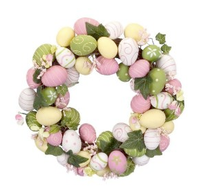Easter Egg Wreath in Pink Green by Target