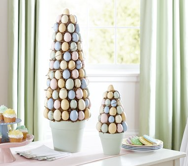 Egg topiary by Pottery Barn Kids