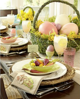 Easter Egg bowl by Pottery Barn