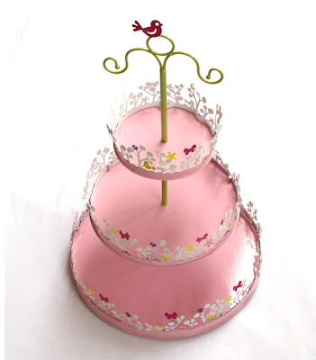 Magic garden cake stand by Edible Glitter
