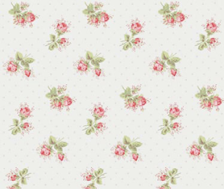Rose sprig Cath Kidston floor tiles by harveymaria
