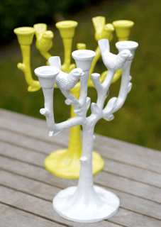Tree birds candle stand by The Balcony Gardener
