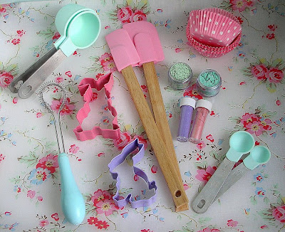 Cute kitchen baking utensils from Cath Kidston, Nigella Lawson and Marks and Spencer