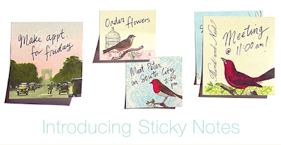 Cavallini and Co sticky notes