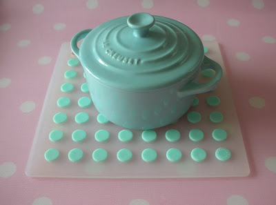 Petite round casserole dish from Le Creuset