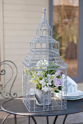 Ornate Wirework Bird House by Really Linda Barker