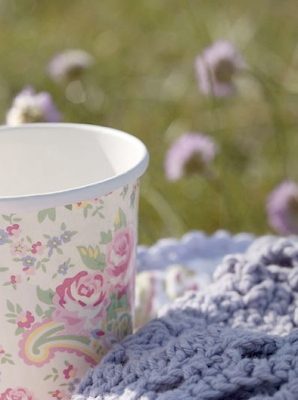 Floral cup by Green Gate