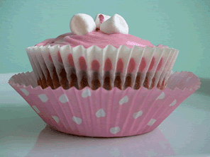 White chocolate raspberry cupcakes by Torie Jayne