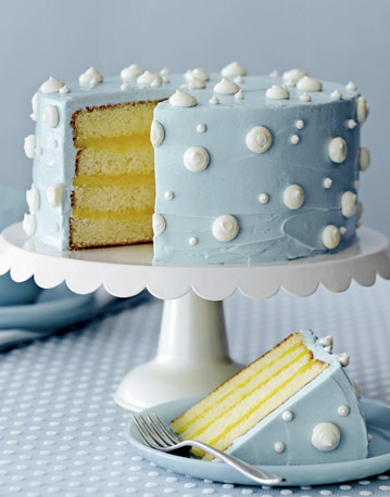 Polka Dot Cake by Country Living