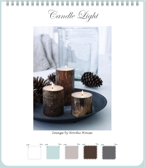 Winter Woodland Candle Light by Torie Jayne