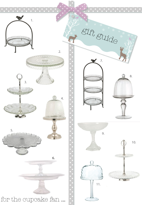 Chic cake stands by Torie Jayne