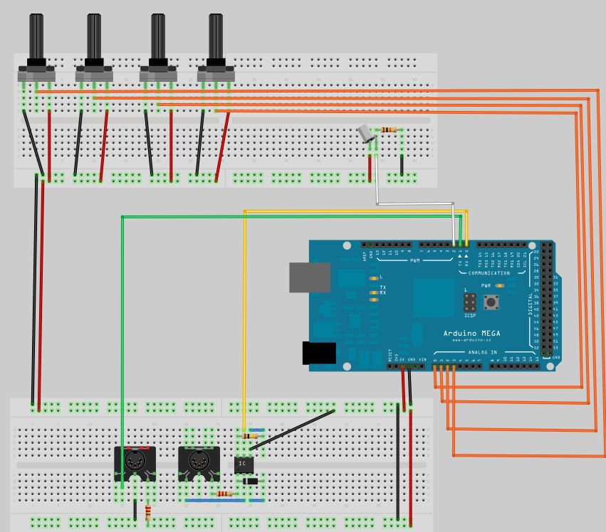 Syncuino an arduino based step sequencer