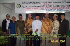 Peluncuran Buku Profil Dakwah Ummat Islam Kab.Karo