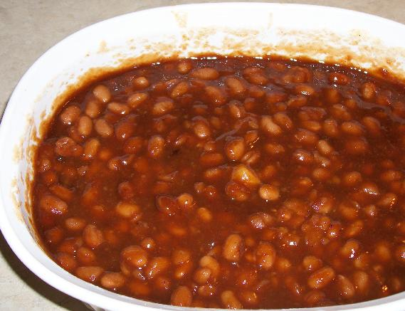 Cooking with Roline & Camille: Baked BBQ Beans