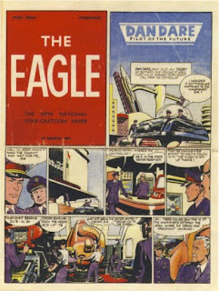 Eagle comic - final dummy of first issue