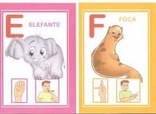 ef 6 modelos de alfabeto em Libras: 1 é só copiar e 5 para DOWLOAD. para crianças