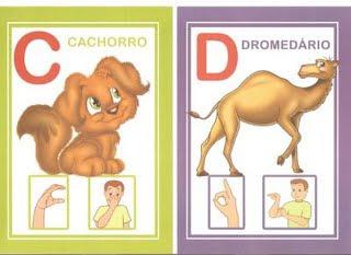 cd 6 modelos de alfabeto em Libras: 1 é só copiar e 5 para DOWLOAD. para crianças