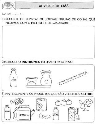 Atividades+para+Casa+(64) Atividades de matemática. para crianças