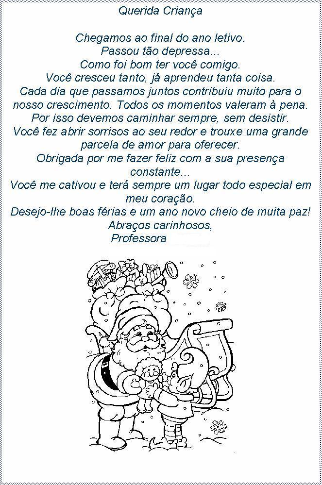 Excepcional AMIGA DA EDUCAÇÃO.: MENSAGENS DE FINAL DE ANO PARA OS ALUNOS!!! LU94