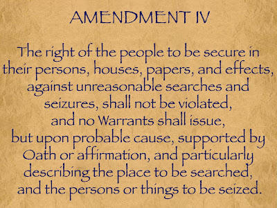 research papers on the fourth amendment I choose the fourth amendment for two reasons: - it recognizes a right that, inevitably, cannot be taken away from a person - it was not written out of spite, but.