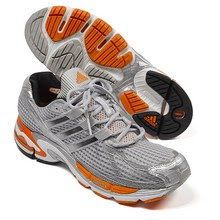 adidas supernova cushion orange and gray