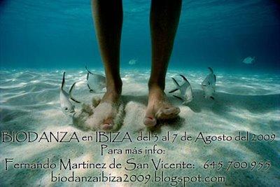 Biodanza Ibiza Agosto del 2009