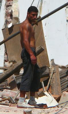 worker Hairy men construction
