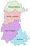 Comarcas de la provincia de Palencia