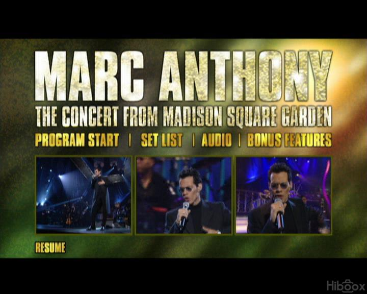 Marc Anthony Marc Anthony 39 S Latest Concert Advertisement At The Madison Square Garden Sep 2010