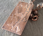 Acid Etched Necklace