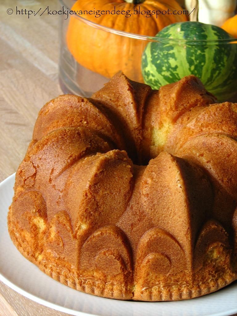 Koekje van eigen deeg: Cardamom Vanilla Pound Cake