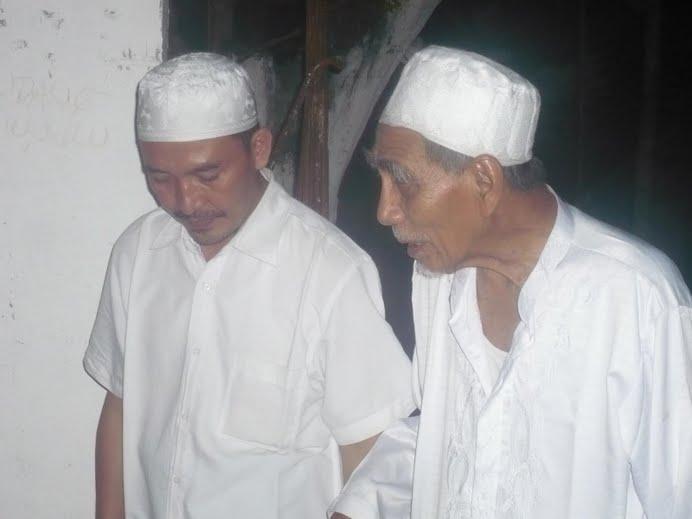 Bersama KH. Maemun Zubaer