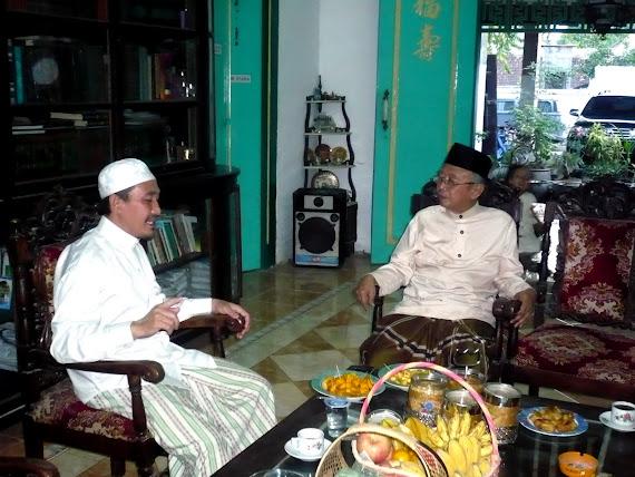 Kunjungan KH. Shalahudin Wahid
