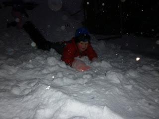 Our Outdoor Play Area in Winter