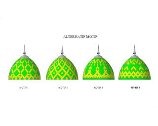 kubah masjid, kontraktor, enamel, atap