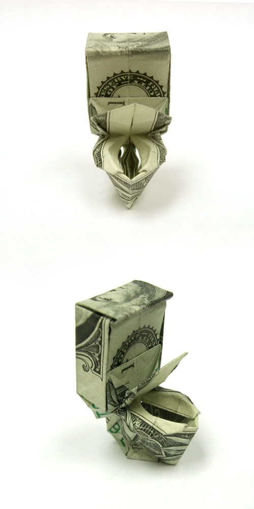 DOLLAR BILL ORIGAMI DIAGRAMS