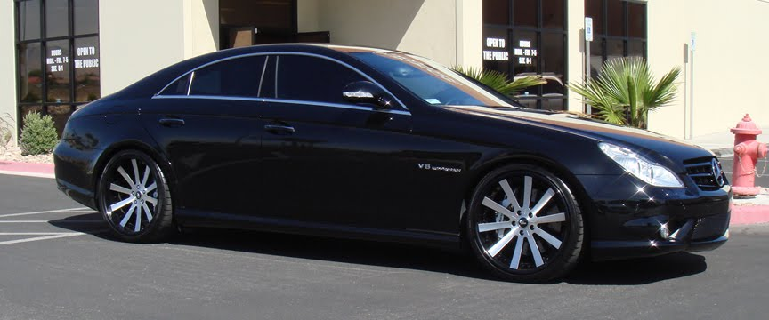 Mercedes-Benz CL600, CL65 and CLS Alloy Wheels