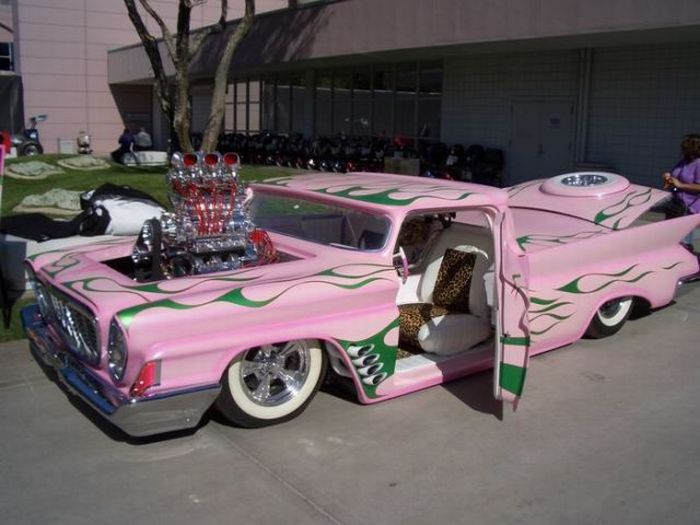 Collection of crazy modified cars from around the world featuring