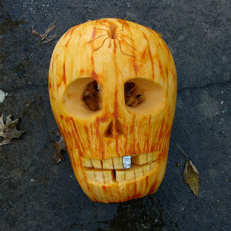 Cool Halloween Pumpkin Seen On www.coolpicturegallery.us