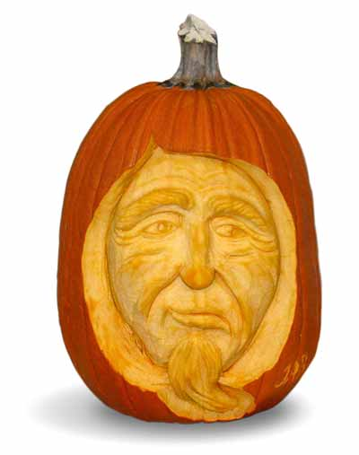 wizard pumpkin Cool Halloween Pumpkin Jack O Lanterns Designs Pictures Seen on www.VyperLook.com