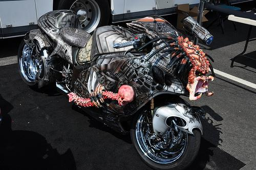 Cool Predator Motorbike | SUPER CAR